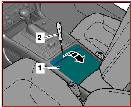 Smontaggio Rimontaggio Audi Q7 Stacco E Riattacco Cassetto Portaoggetti Console Centrale Audi