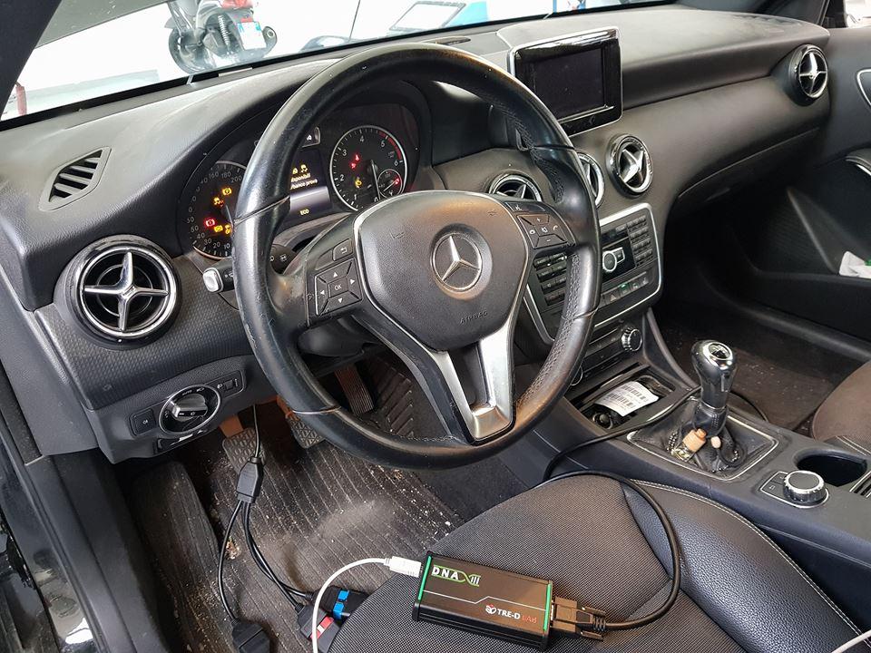 C2205 Errore interno nel sensore angolo di sterzata Mercedes classe