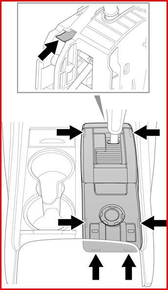 Schema Elettrico Sensori Di Parcheggio : Sblocco leva selettrice d emergenza
