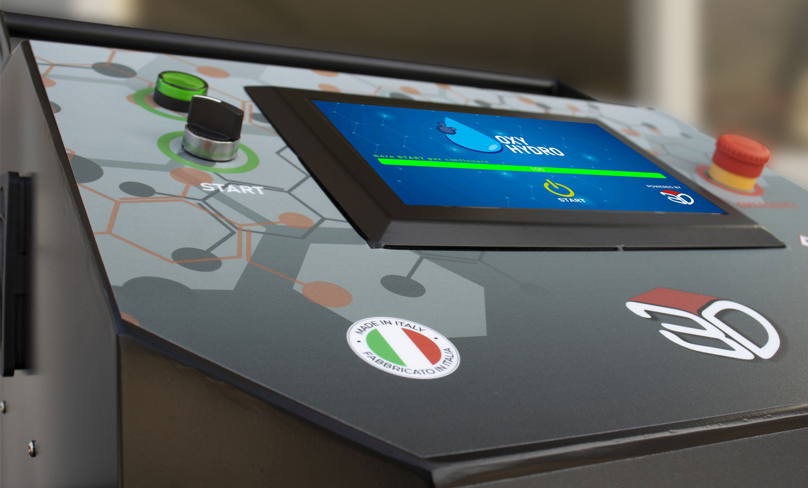 OxyHydro: Touch Screen